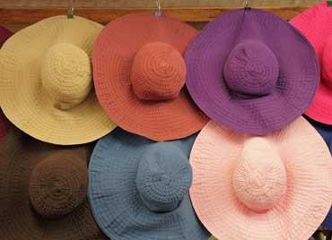 Chapeaux faits main